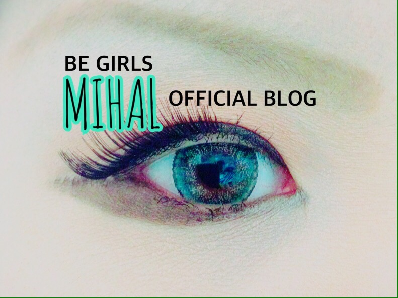 BE GIRLS MIHAL blog